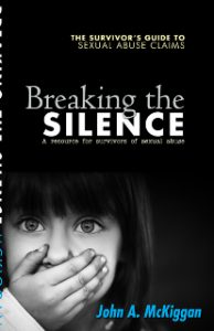 Breaking the Silence Sexual Abuse Book